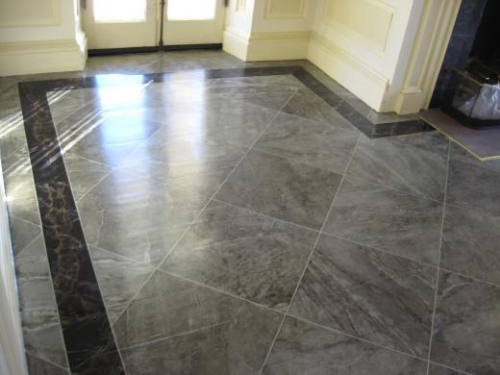 10 Beautiful Faux Painted Marble Floors