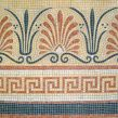 Hand painted mosaic tiles