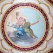 faux painted ornament hall tiepolo mural grotessca mjp studios ct
