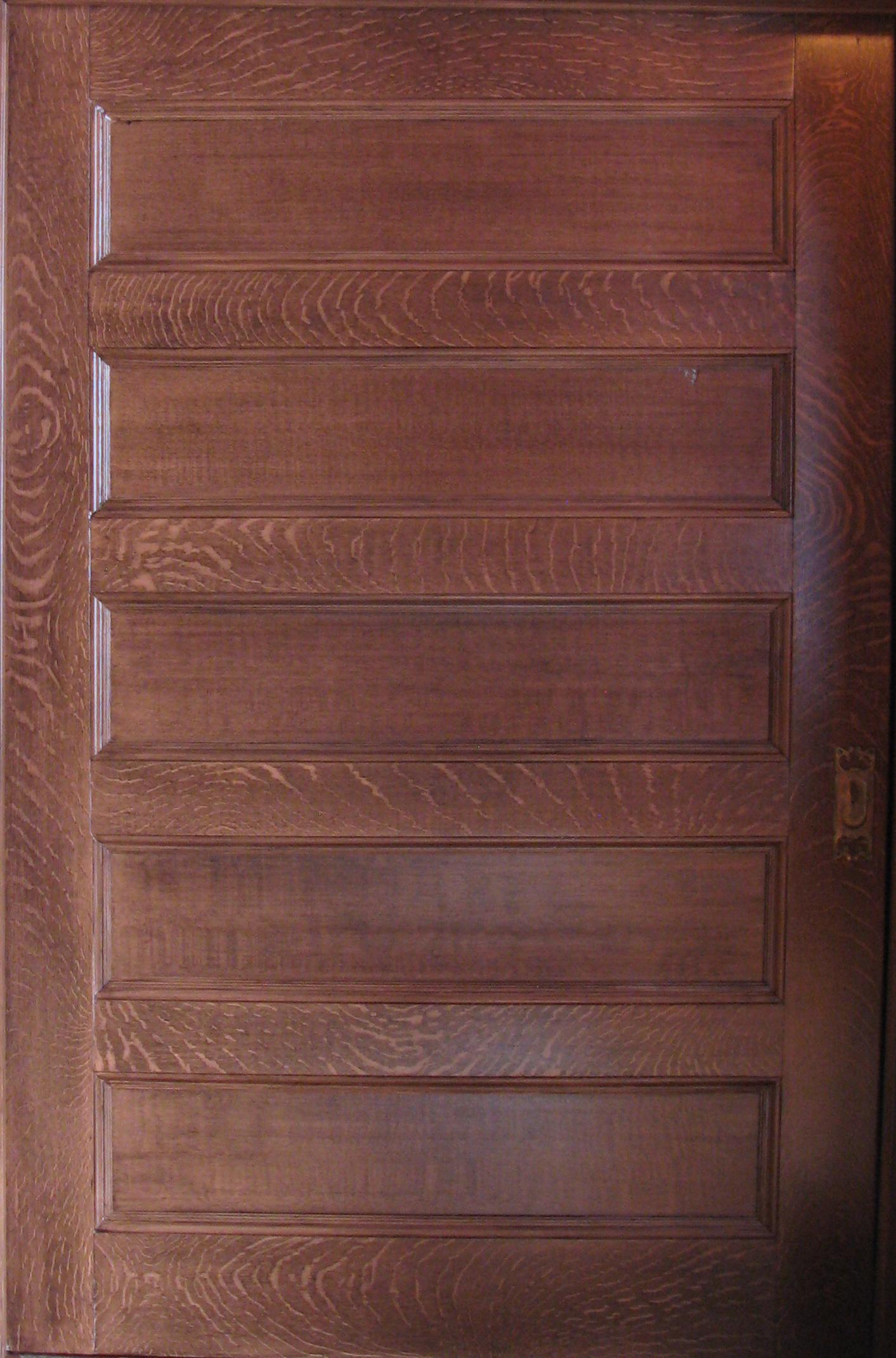 Faux Painted Wood Graining » MJP Studios
