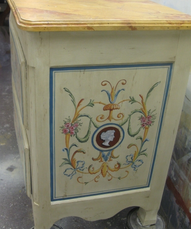 Beau ... Faux Painted Furniture Ct Ny Decorative Painted Vanity Ct Mjp Studios  Rustic Faux Marble