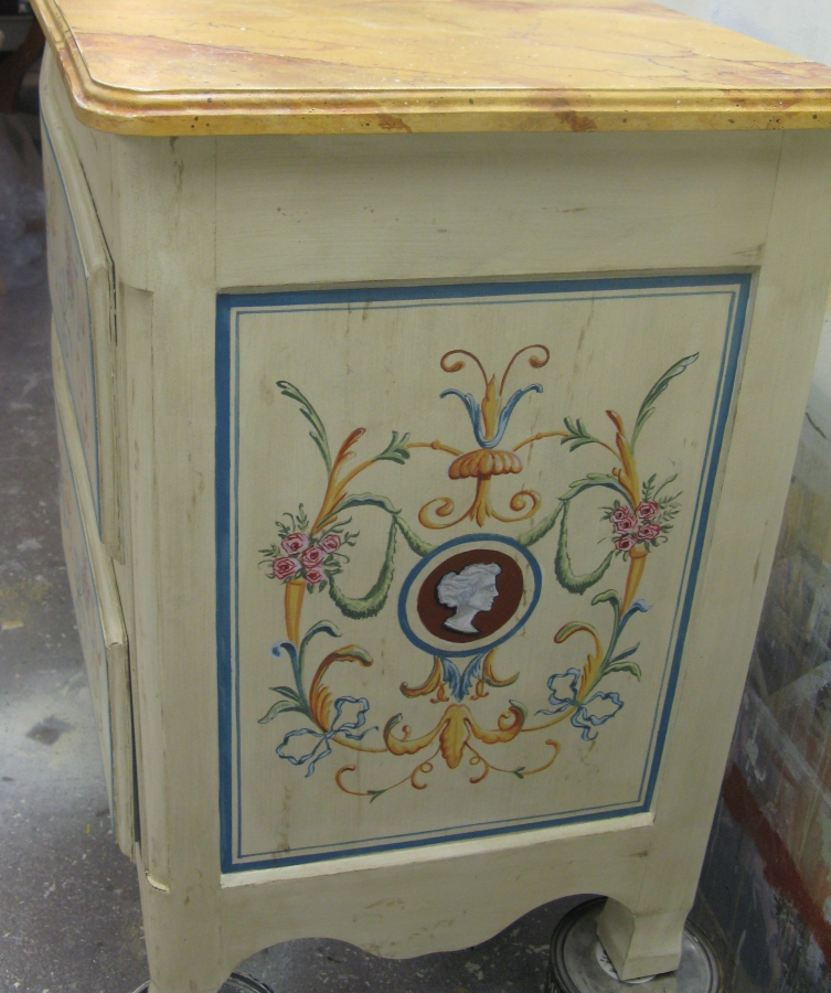 ... Faux Painted Furniture Ct Ny Decorative Painted Vanity Ct Mjp Studios  Rustic Faux Marble