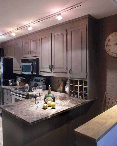 Faux Paint Kitchen Cabinets: Faux Painting Finishes And Decorative Painting » MJP Studios