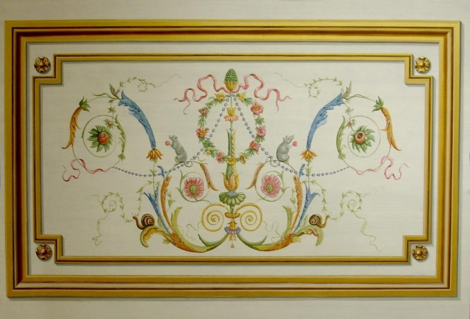 Trompe loeil decorative painting ct / ny mjp studios