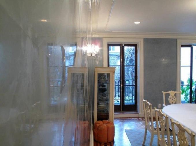 Venetian plaster dining room NYC