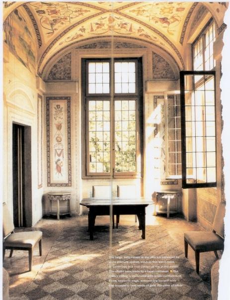 italian ceiling murals ct villa grottesca