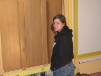 yale-art-gallery ct-faux-bois-project mjp studios Christie at work