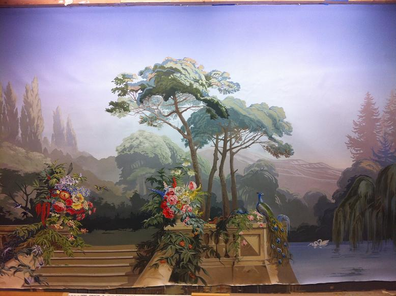 Mural Painting Ct Zuber Wallpaper Reproduction Part 1