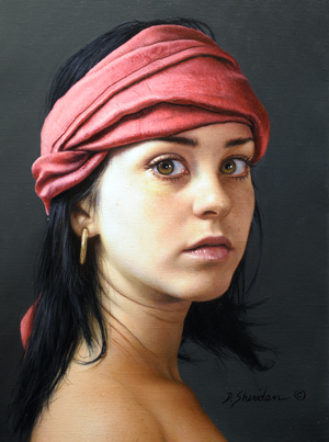 duffy-sheridan_head-study-marieke-with-rose_9x122
