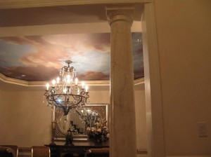 faux marble & ceiling mural - Decorative Painting ny ct