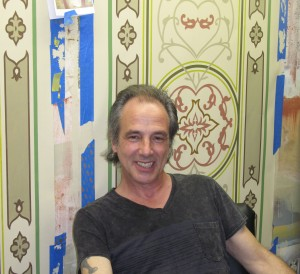 CT. Decorative Painter Marc Potocsky at work in the studio and on site / MJP Studios