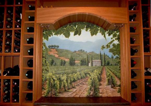 Mural CT winecellar MJP