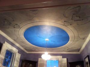 dome ceiling mural mjp studios 2