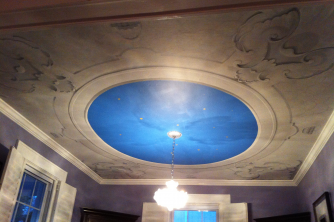 Dome Ceiling Mural CT.