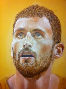 kevin love  Marc Potocsky acrylic