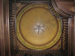 Ceiling dome mural Stanford CT. For Julie White interiors MJP Studios -sm