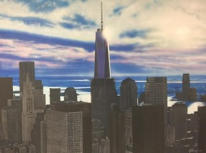 freedom tower one world trade fine art painting nyc mjp studios 3