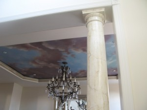 faux painted marble columns ny 2