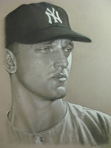 New York Yankees art CT- Maris MJP