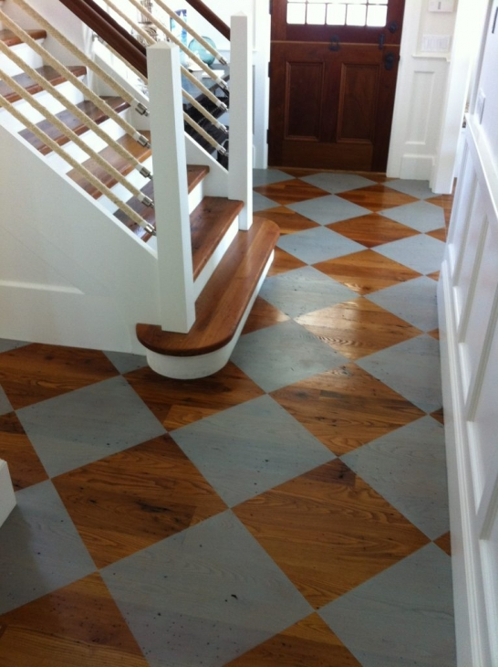 Faux Painted Wood Floors CT NY
