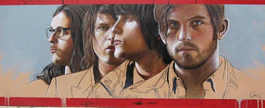 Ct Rock Art by Marc Potocsky Kings of Leon