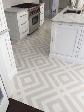 Tips on decorative painting hardwood floors CT mural artist