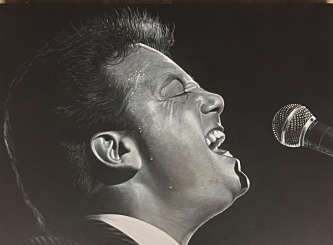 Billy Joel painting by Renowned CT Artist Marc Potocsky
