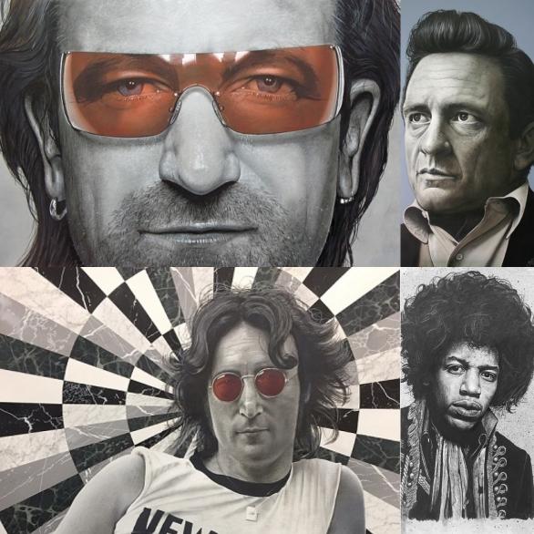 Connecticut Rock Icon Artist