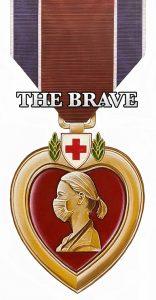 Clara Barton Red Heart Medal by Marc Potocsky MJP Studios